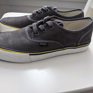 Men's lace up Polo shoes